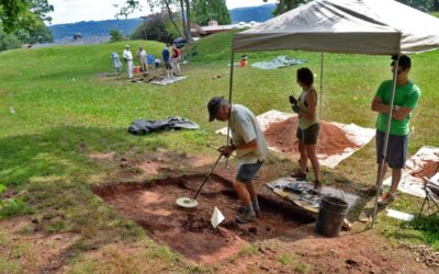 WVSU students learn to dig history in Fort Scammon archaeology project